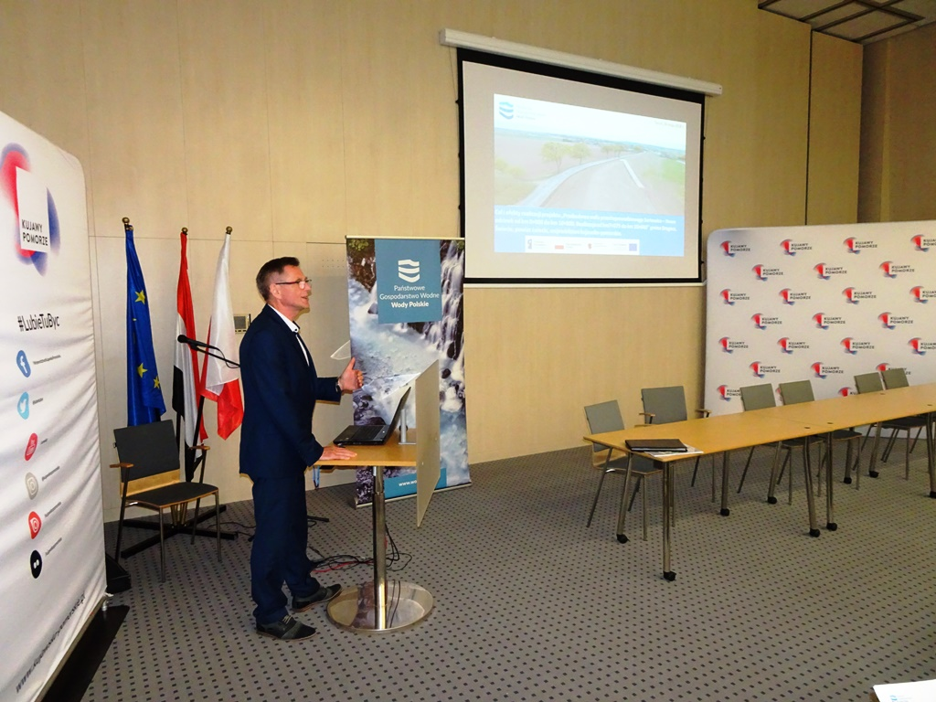 konferencja toruń wały Sartowice - Nowe