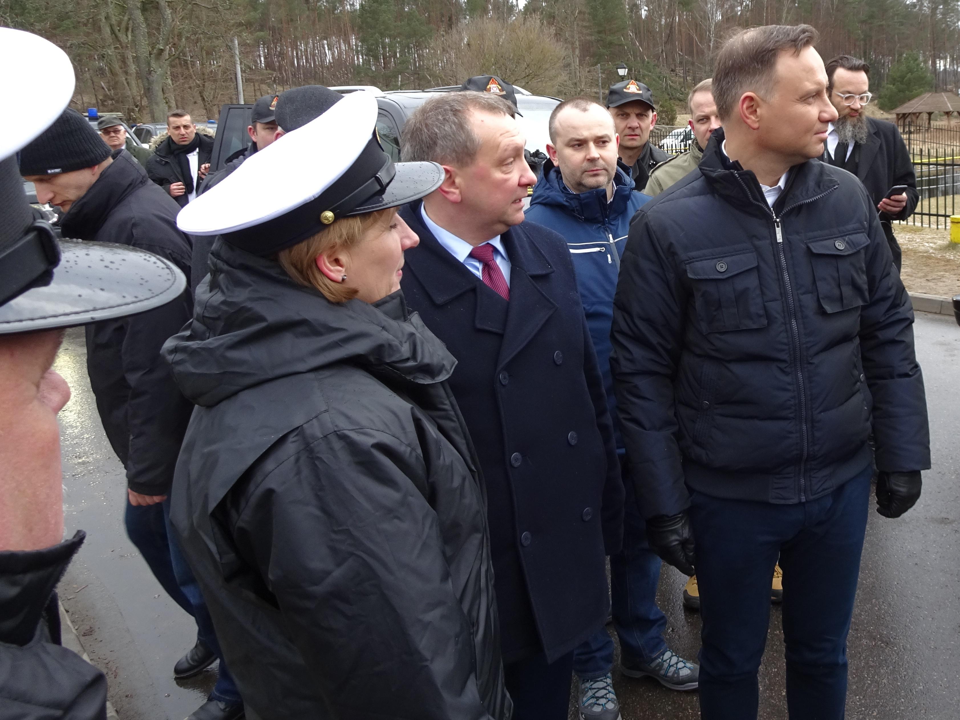 Mylof, Prezydent, Wody polskie