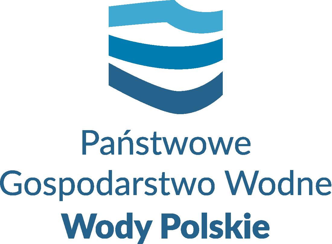 logo WODY POLSKIE pion bez tła