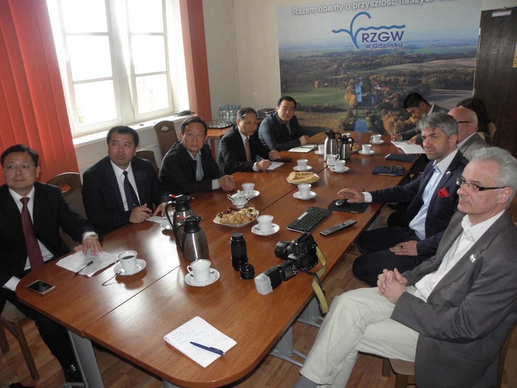 chińska delegacja, RZGW