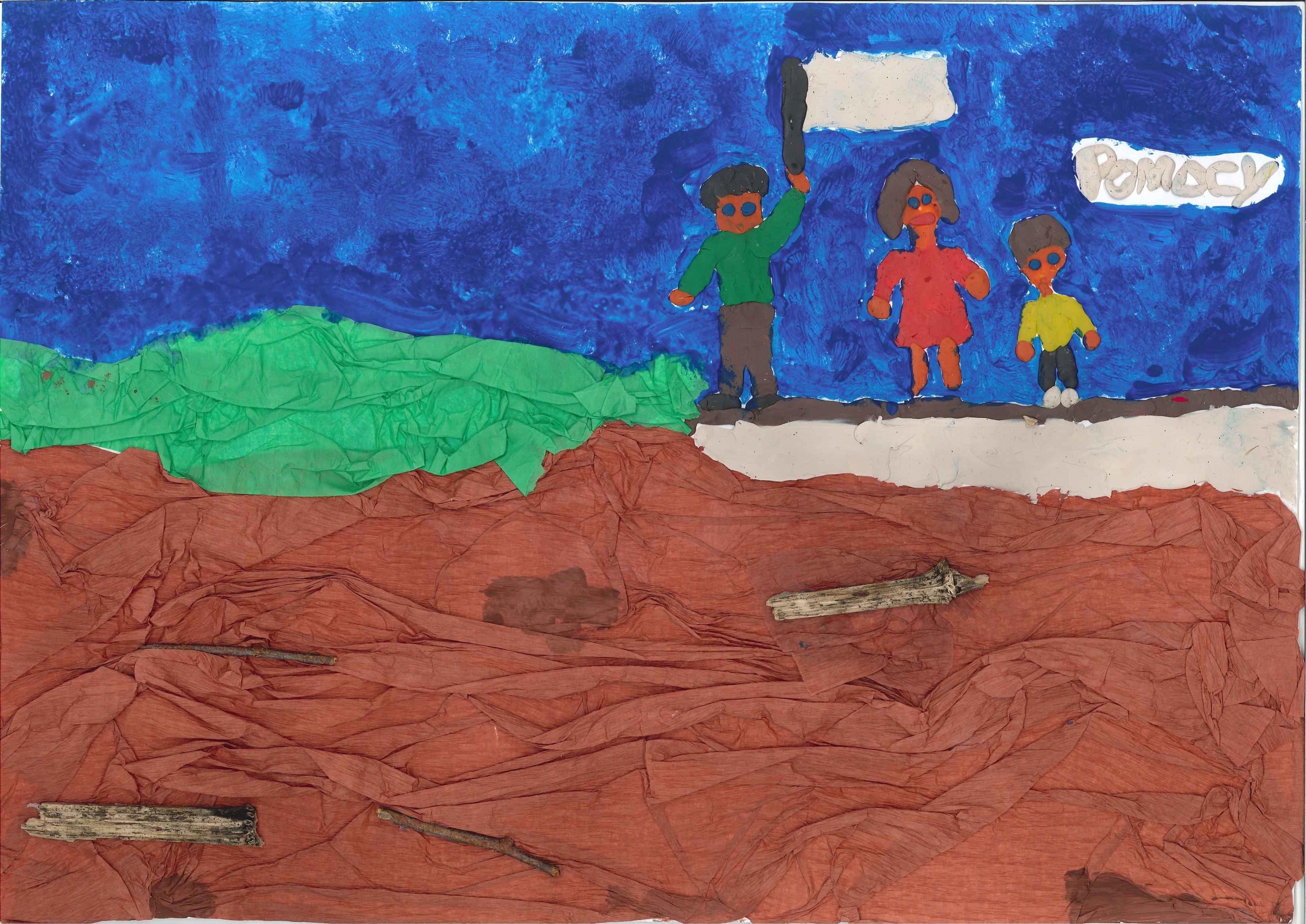 dzieci, konkurs, powódź