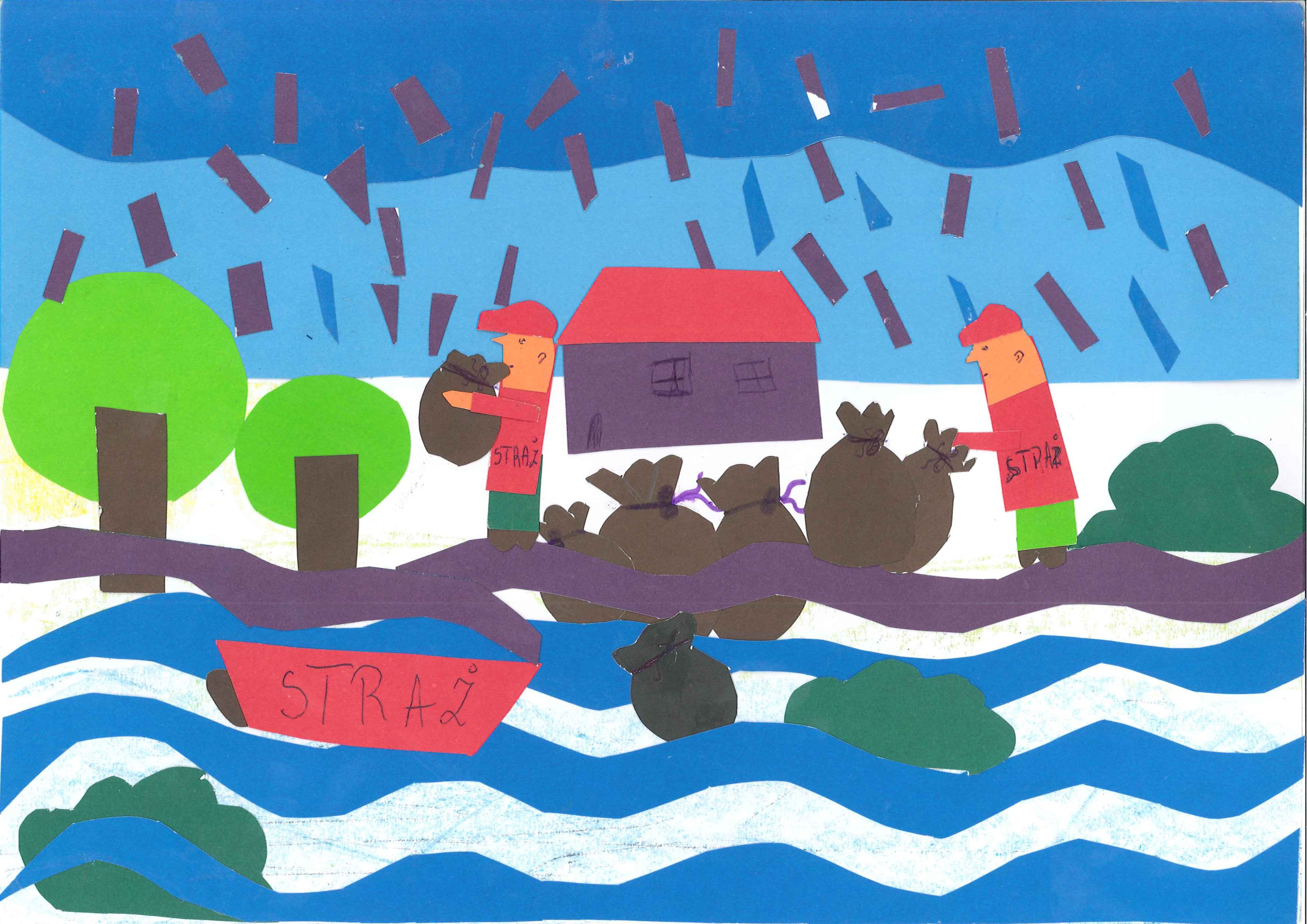 dzieci, powódź, konkurs
